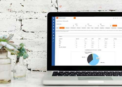 Profesionalhoreca, pantalla del software TPV virtual gratuito Hiboutik