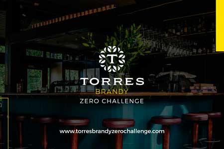 Profesionalhoreca, cartel del Torres Brandy Zero Challenge