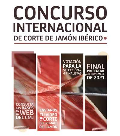 Profesionalhoreca, cartel del concurso de corte de jamón ibérico