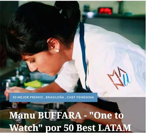 Profesionalhoreca, la chef Manu Buffara, que estará en Mediterránea Gastrónoma 2021