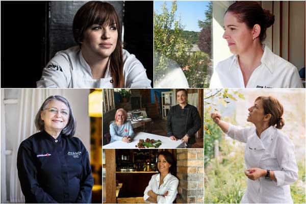 Profesionalhoreca, chefs participantes en el congreso FñeminAs 2021
