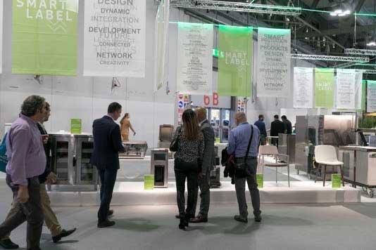Profesionalhoreca, exposición de equipos premiadps con los Smart Label en la feria Host Milano