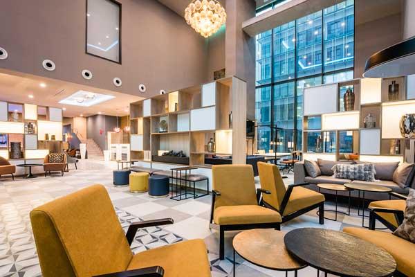 Profesionalhoreca, lobbydel Leonardo Royal Hotel Barcelona Fira