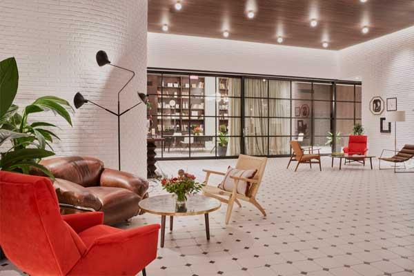 Profesionalhoreca, lobby del hotel Canopy by Hilton Madrid Castellana