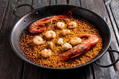 Profesionalhorca, plato casero, paella de Caseroo