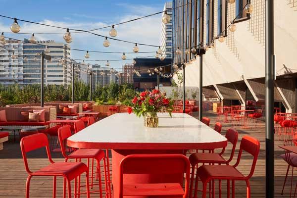 Profesionalhoreca, terraza Planta Z del hotel Canopy by Hilton Madrid Castellana