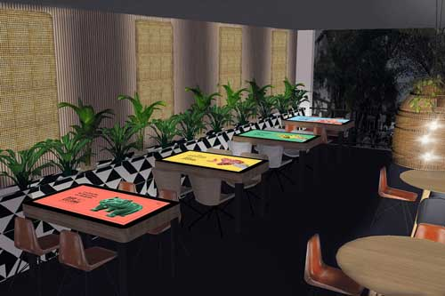 Profesionalhoreca, mesas interactivas XTable en el Barcelona Bar