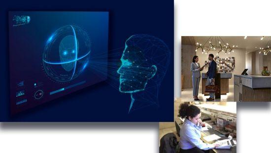Profesional Horeca, solución de biometría o reconocimiento facial Face2travel de Serban Biometrics