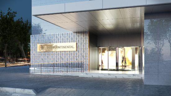 ProfesionalHoreca, fachada del nuevo hotel InterContinental Barcelona