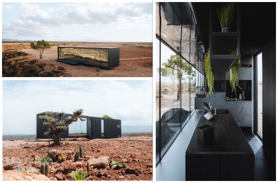 ProfesionalHoreca, detalles del eco-hotel cápsula District Hive