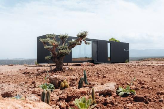 ProfesionalHoreca, eco-hotel cápsula District Hive en el desierto de Granada