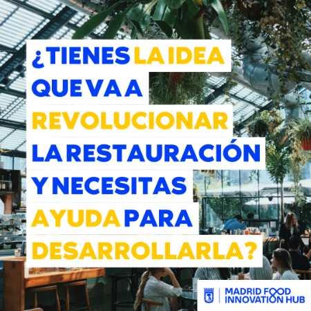 ProfesionalHoreca, cartel del Programa de Incubación para Innovación en Proyectos de Horeca