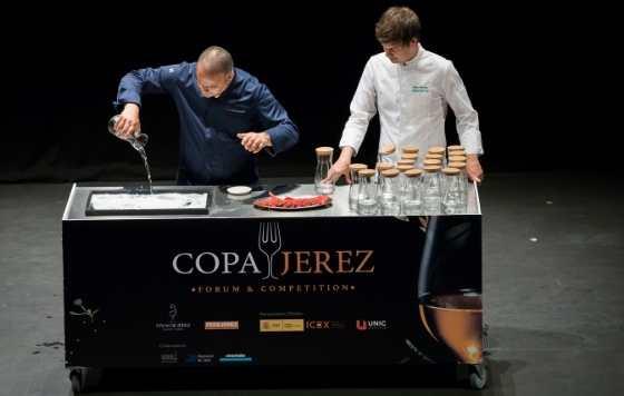 profesionalhoreca, demostración de cocina en la Copa Jerez Forum