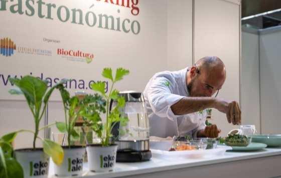 Profesionalhoreca, showcooking en BioCultura Madrid