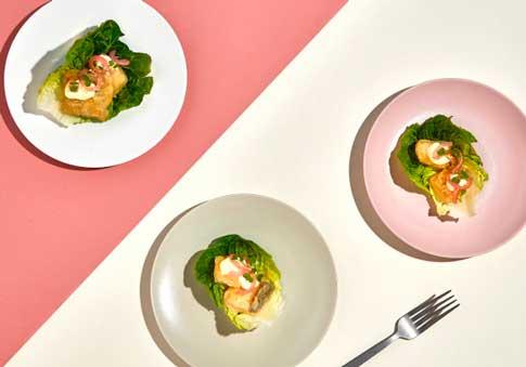 Profesionalhoreca, taquitos de bacalao en tempura de Ibercook Food Service, Congalsa