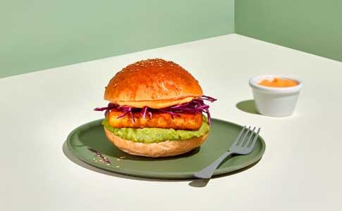 Profesionalhoreca, fishburger de marluza de Ibercook Food Service, Congalsa