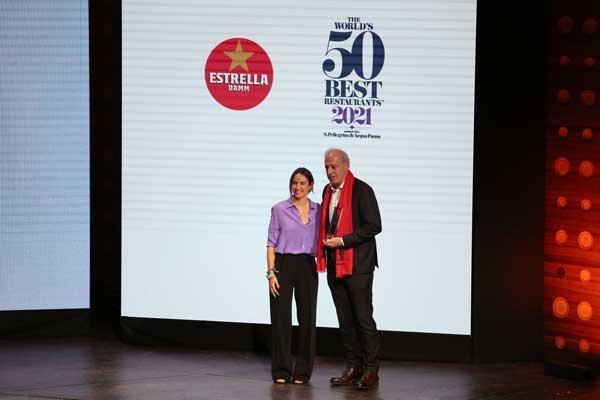 Profesionalhoreca, Víctor Arginzoniz recibe el Estrella Damm Chefs' Choice Award 2021