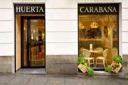Profesionalhoreca, fachada del restaurante Huerta de Carabaña, en Madrid